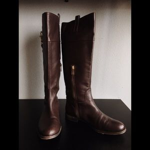 Coach Genuine Leather Boots
